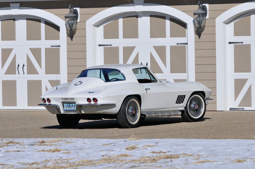 1967 Chevrolet Corvette Convertible Stig Ray 427 Muscle Classic USA 4200x2790-37 wallpaper