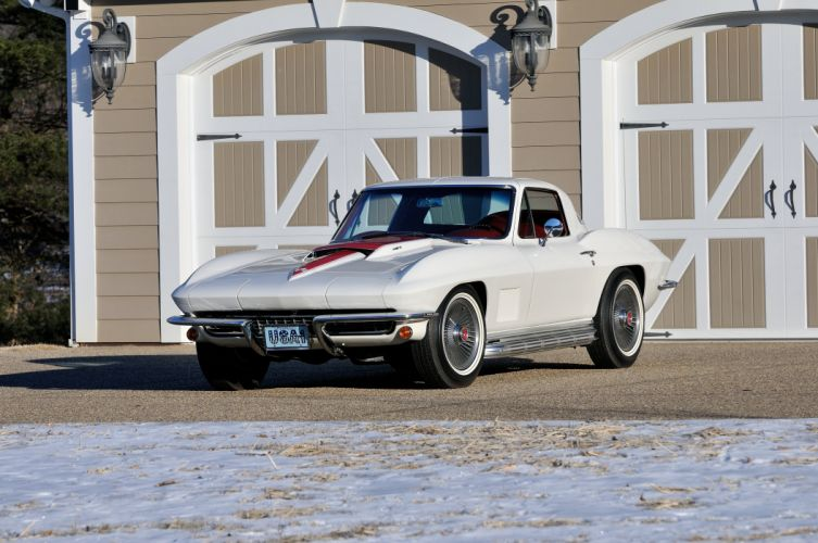 1967 Chevrolet Corvette Convertible Stig Ray 427 Muscle Classic USA 4200x2790-35 wallpaper