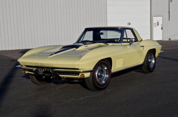 1967 Chevrolet Corvette Convertible Stig Ray 427 Muscle Classic USA 4200x2790-34 wallpaper