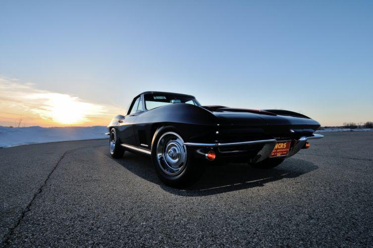 1967 Chevrolet Corvette Convertible Stig Ray 427 Muscle Classic USA 4200x2790-33 wallpaper