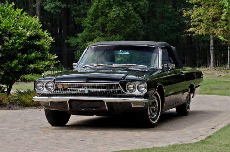1966 Ford Thunderbird Convertible Classic USA 4200x2790-03 wallpaper