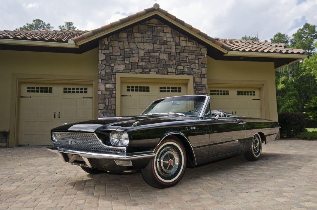 1966 Ford Thunderbird Convertible Classic USA 4200x2790-07 wallpaper