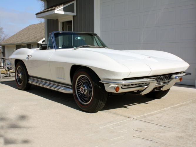 1967 Chevrolet Corvette Convertible Stig Ray 427 Muscle Classic USA 2800x2100-34 wallpaper