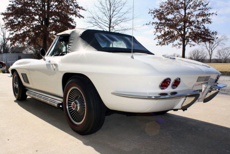 1967 Chevrolet Corvette Convertible Stig Ray 427 Muscle Classic USA 2800x2100-36 wallpaper