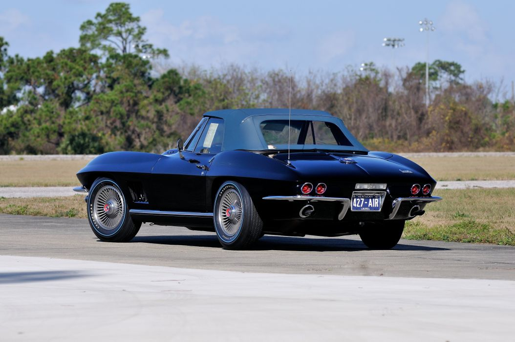 1967 Chevrolet Corvette Convertible Stig Ray 427 Muscle Classic USA 4200x2790-02 wallpaper