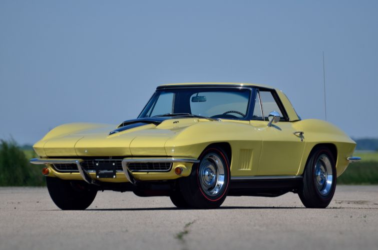 1967 Chevrolet Corvette Convertible Stig Ray 427 Muscle Classic USA 4200x2790-05 wallpaper