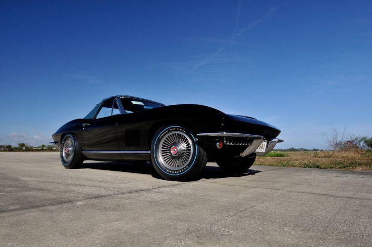 1967 Chevrolet Corvette Convertible Stig Ray 427 Muscle Classic USA 4200x2790-03 wallpaper
