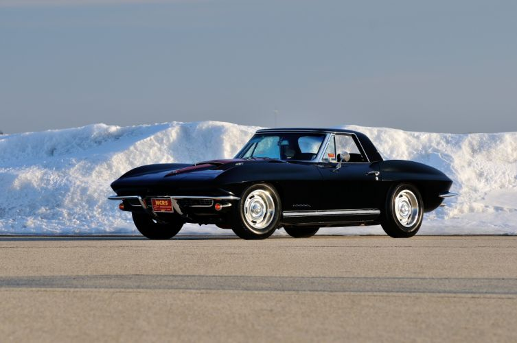 1967 Chevrolet Corvette Convertible Stig Ray 427 Muscle Classic USA 4200x2790-13 wallpaper