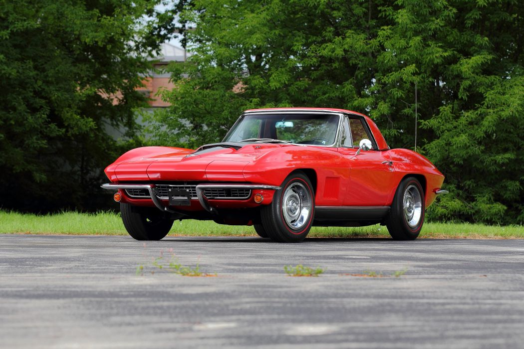 1967 Chevrolet Corvette Convertible Stig Ray 427 Muscle Classic USA 4200x2790-20 wallpaper