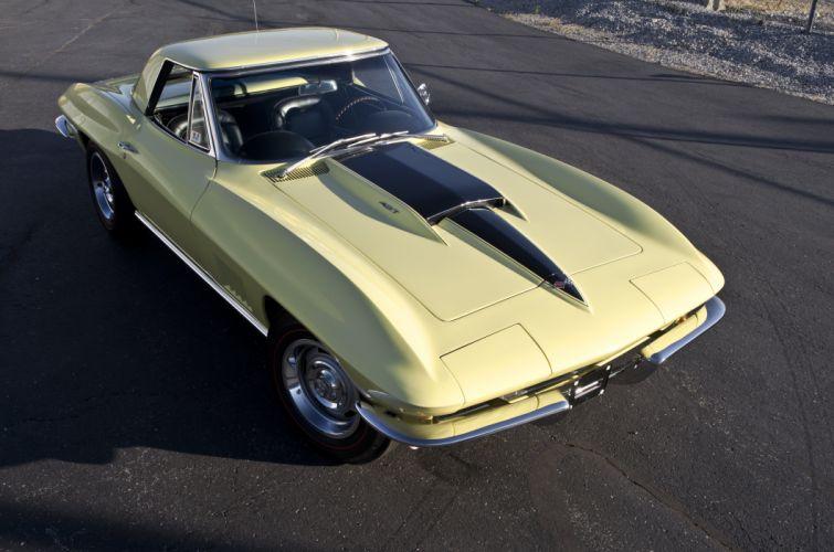 1967 Chevrolet Corvette Convertible Stig Ray 427 Muscle Classic USA 4200x2790-22 wallpaper