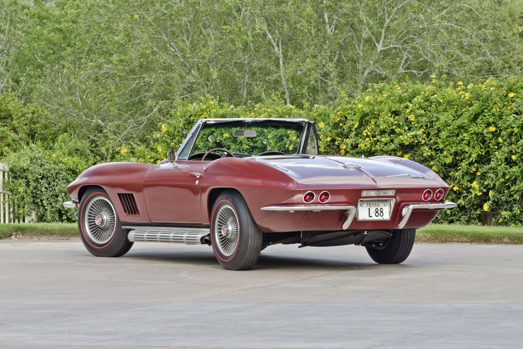 1967 Chevrolet Corvette Convertible Stig Ray 427 Muscle Classic USA 4200x2790-31 wallpaper