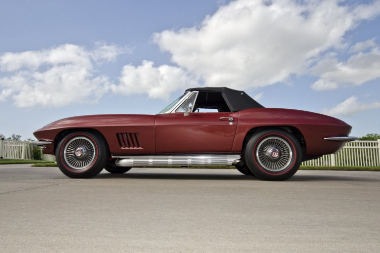 1967 Chevrolet Corvette Convertible Stig Ray 427 Muscle Classic USA 4200x2790-32 wallpaper