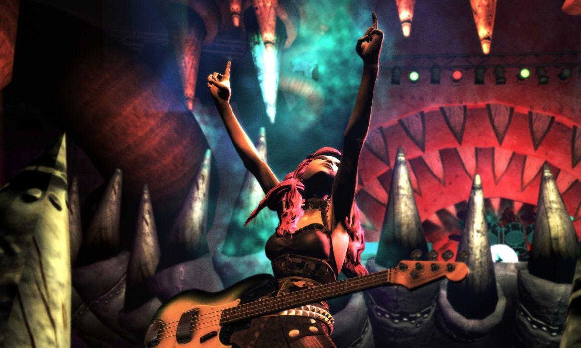GUITAR HERO music guitars heavy metal rock hard 1ghero rhythm guitarhero wallpaper