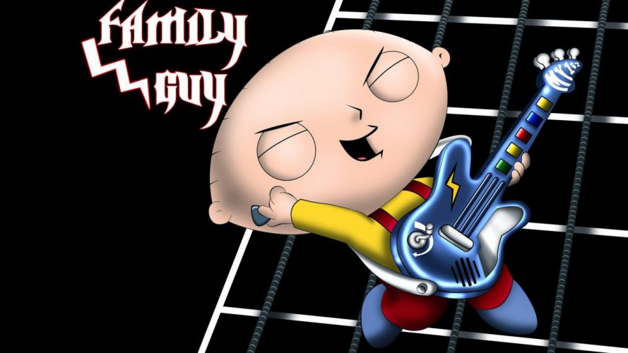GUITAR HERO music guitars heavy metal rock hard 1ghero rhythm guitarhero poster stewie family guy wallpaper