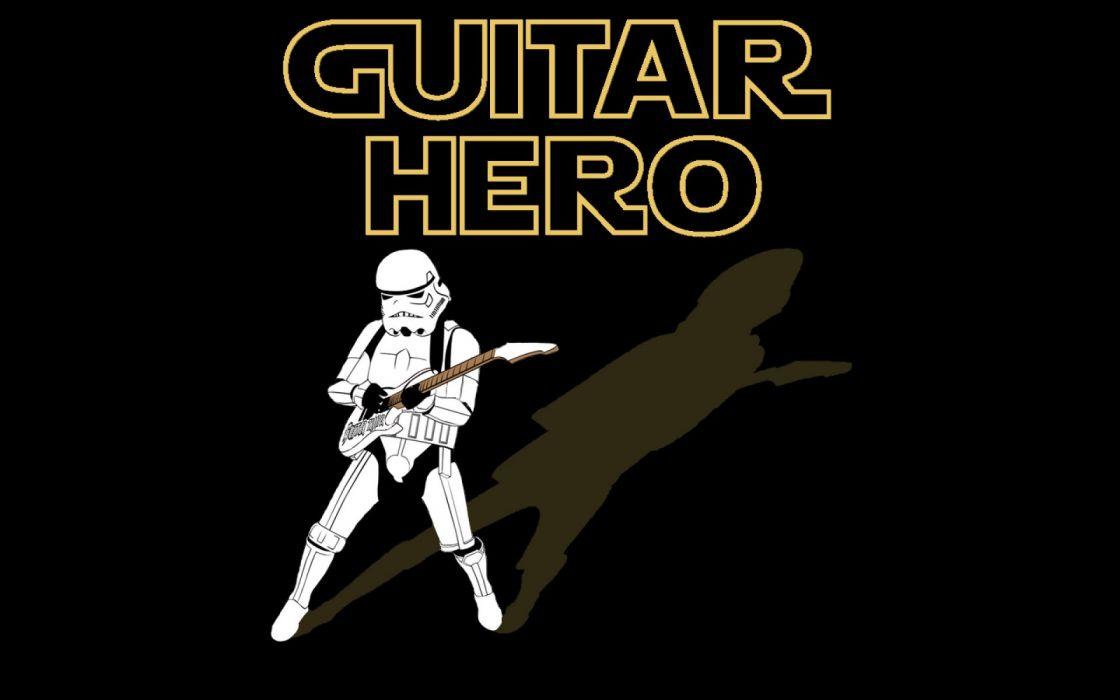 GUITAR HERO music guitars heavy metal rock hard 1ghero rhythm guitarhero star wars wallpaper
