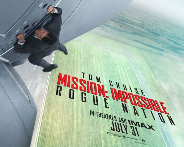 Mission Impossible Rogue Nation action spy fighting cruise series 1mirn thriller poster wallpaper