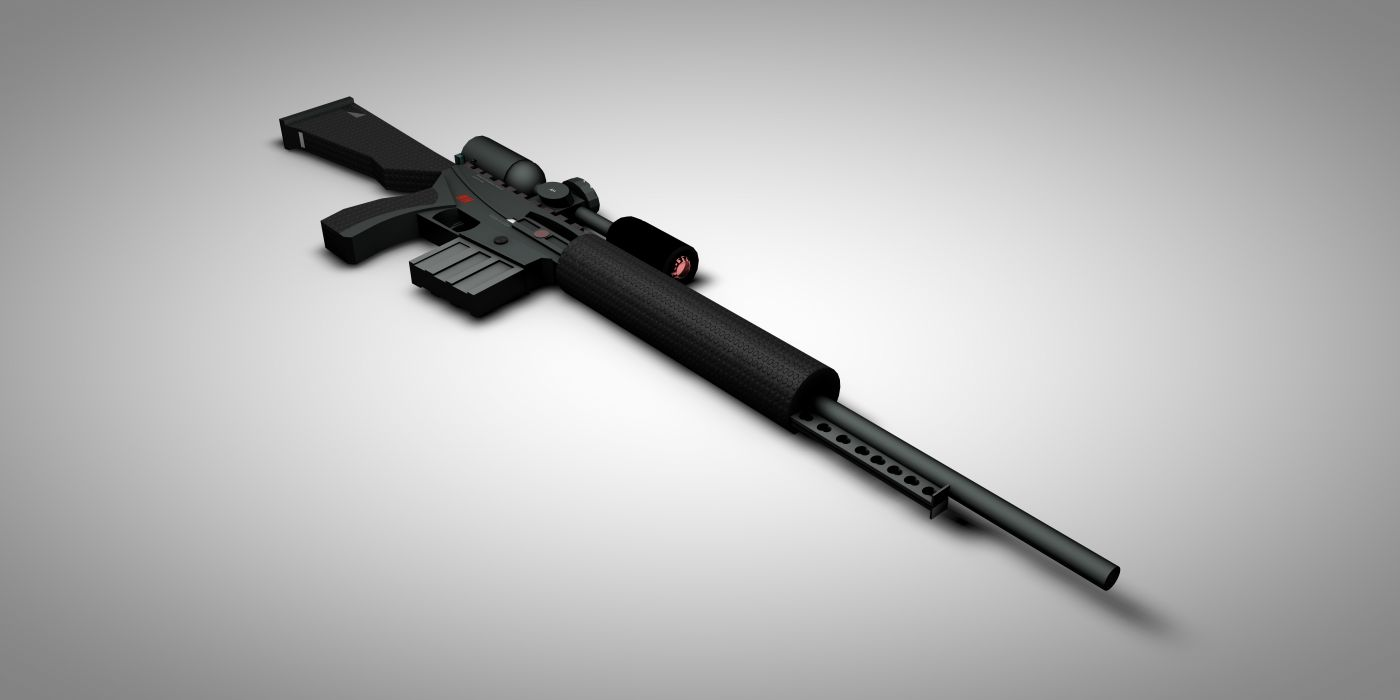 assault - closeup - gun - Military - rifle - weapon wallpaper