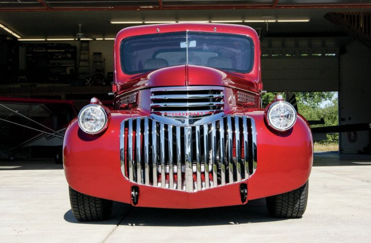 1946 Chevrolet Pickup Streetrod Street Rod Hot Hotrod USA 2048x1340-01 wallpaper