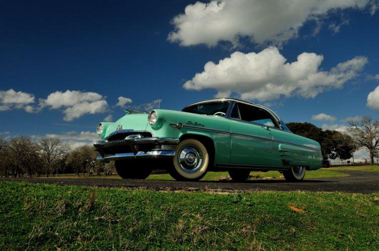 1954 Mercury Sun Valley Hardtop Classic Old Retro USA 4096x2720-01 wallpaper