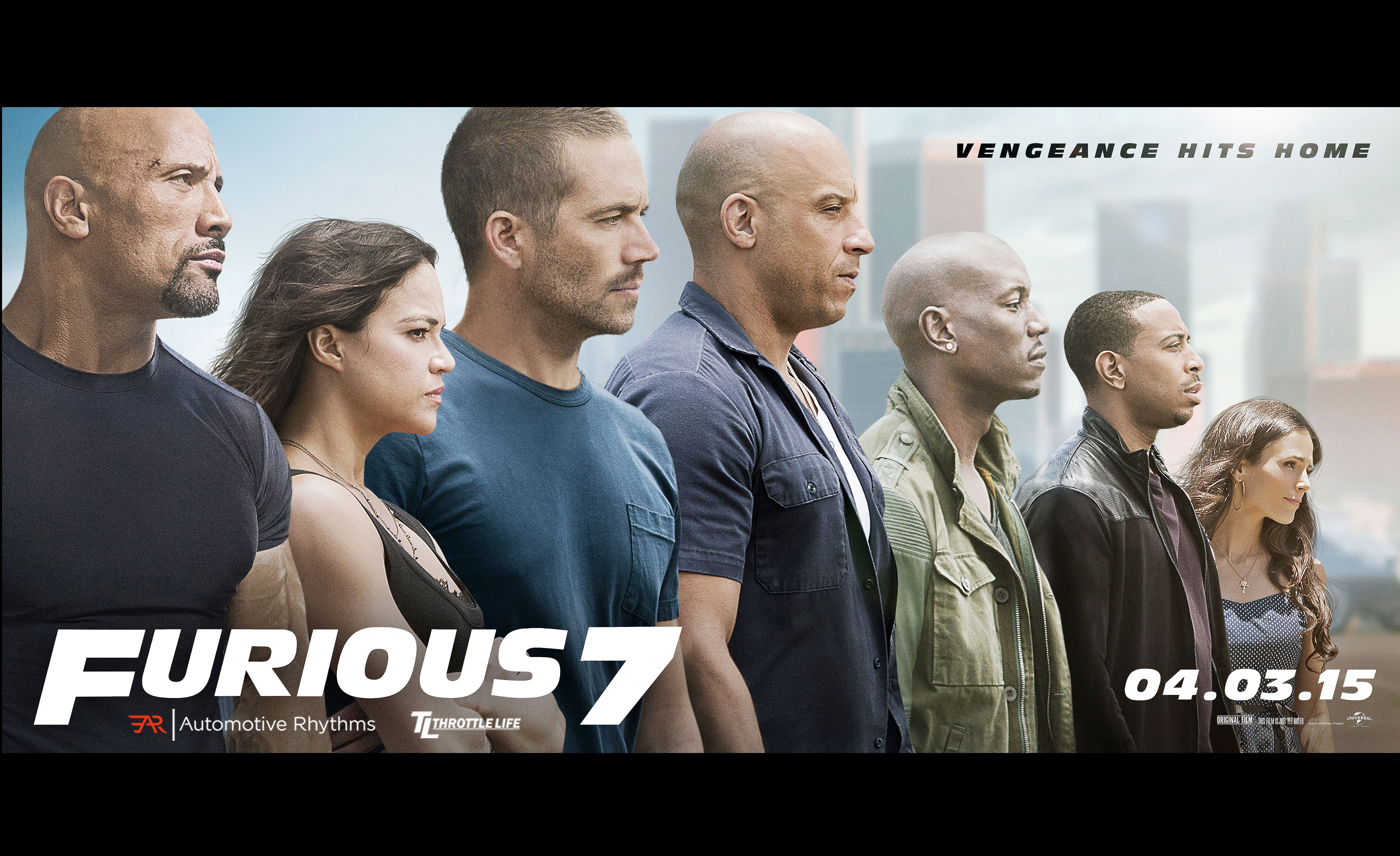 FAST FURIOUS 7 Action Thriller Race Racing Crime Ff7 1ff7