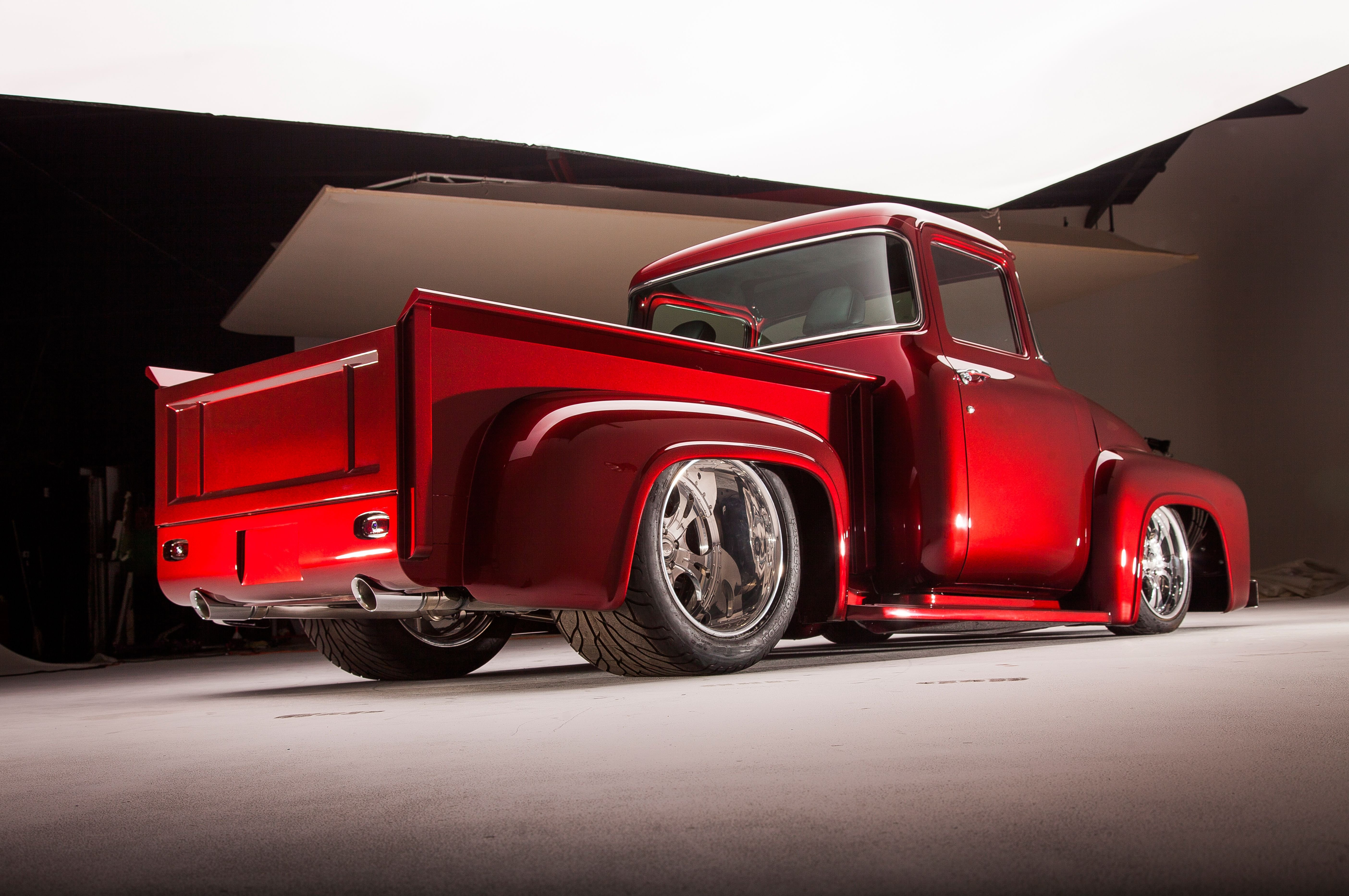 Cars Of Ford >> 1956 Ford F100 Pickup Streetrod Street Rod Hot Hotrod USA 5616x3730-05 wallpaper | 5616x3730 ...