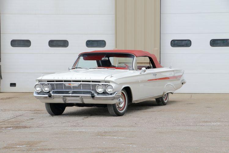 1961 Chevrolet Impala Convertible Classic Old Retro USA 4096x2731-01 wallpaper