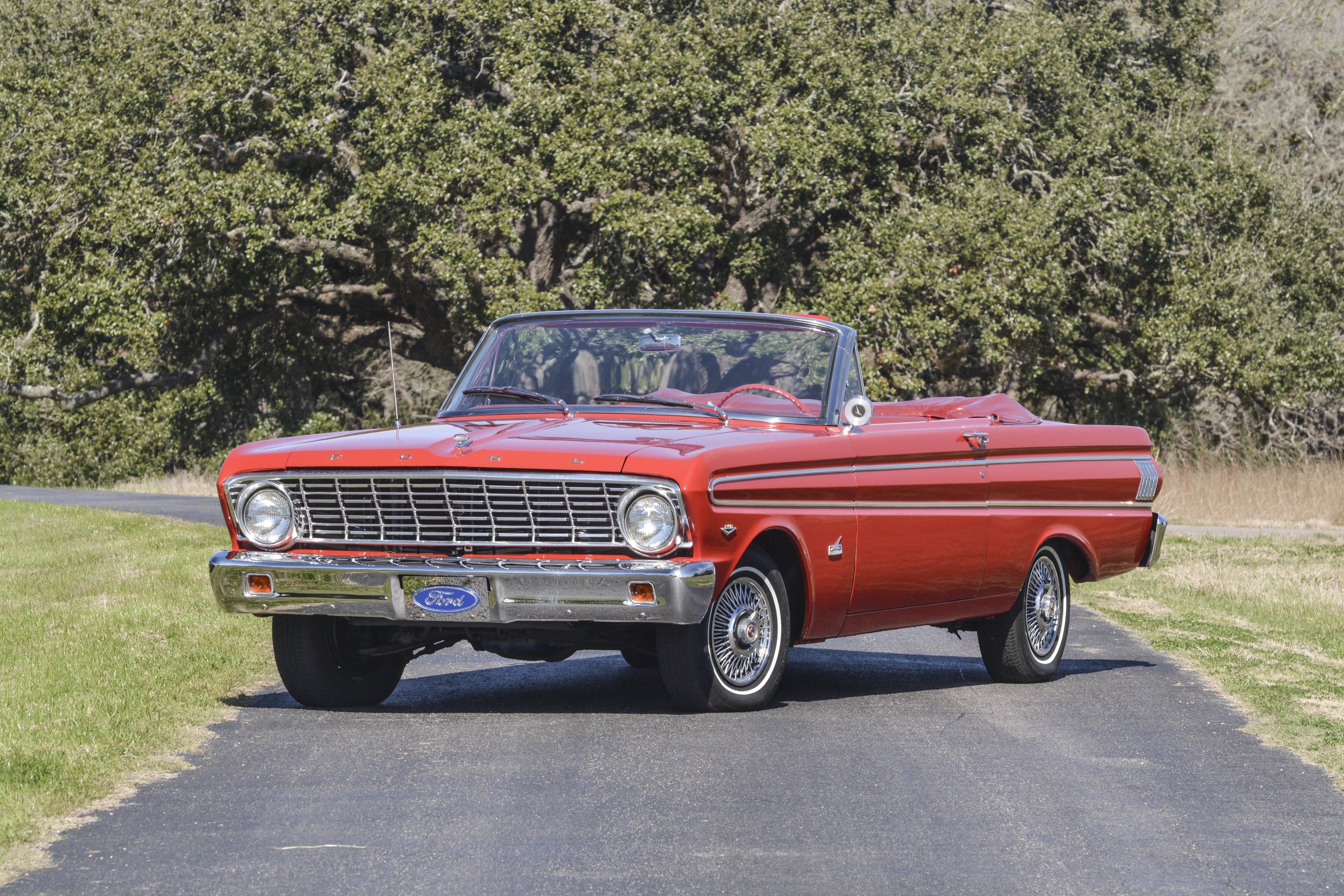 1964 Ford Falcon Futura Convertible Classic Old Retro Usa 5120x3431 01 Wallpaper 5120x3413 645072 Wallpaperup