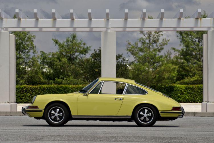 1971 Porsche 911 S Coupe 4096x2730-03 wallpaper