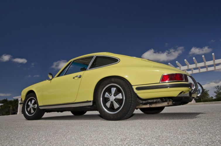 1971 Porsche 911 S Coupe 4096x2730-06 wallpaper