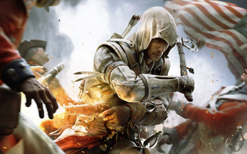 assassins creed iii game-wide wallpaper