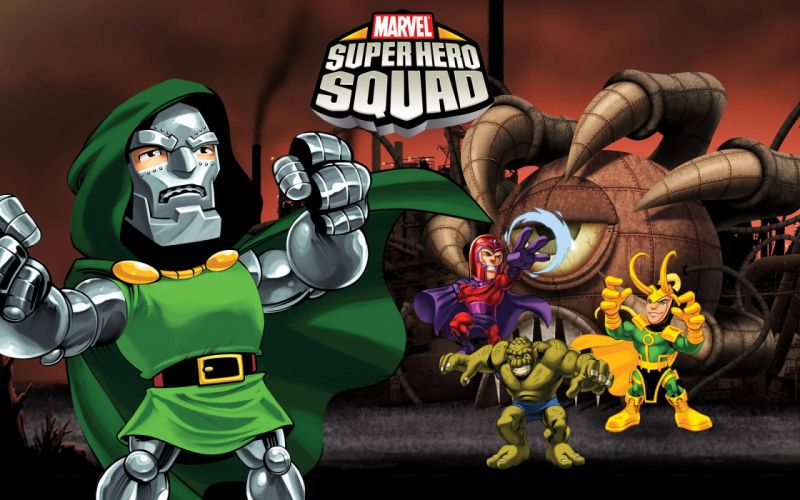 MARVEL SUPER HERO SQUAD online superhero hero heroes 1mshs action fighting comics wallpaper