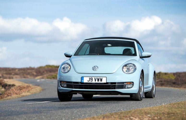 Volkswagen Beetle Cabrio convertible cars 2013 wallpaper