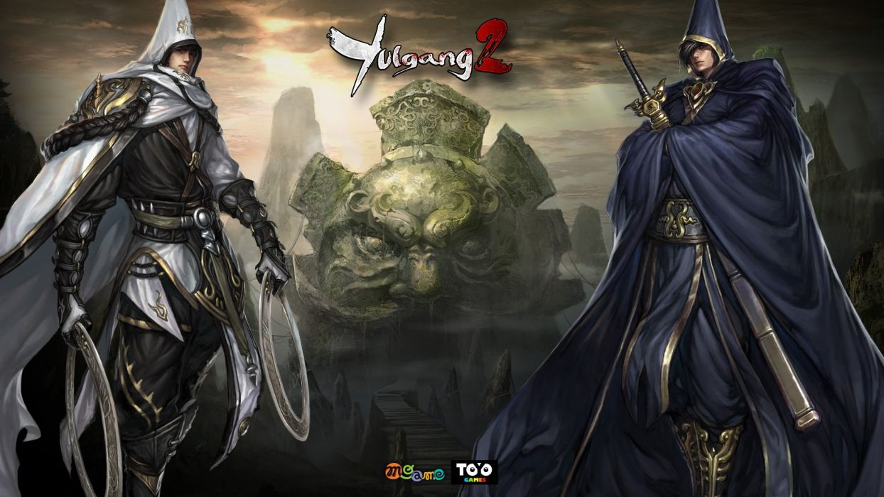 YULGANG ONLINE asian fantasy mmo rpg adventure action fighting 1yulg comics warrior martial kung scions fate wallpaper