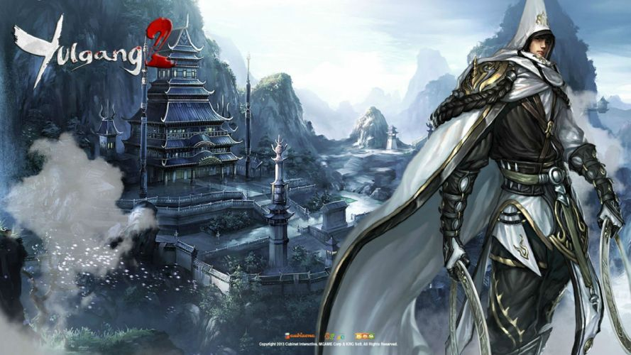 YULGANG ONLINE asian fantasy mmo rpg adventure action fighting 1yulg comics warrior martial kung scions fate wallpaper