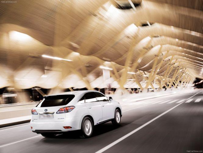 Lexus RX 450h suv cars 2010 wallpaper