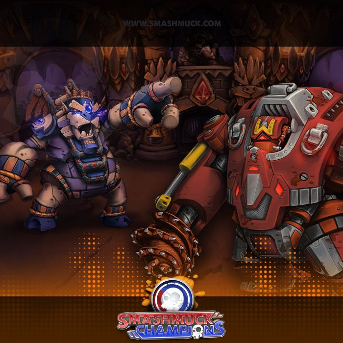 SMASHMUCK CHAMPIONS fantasy mmo rpg action fighting online arena strategy 1smash warrior wallpaper
