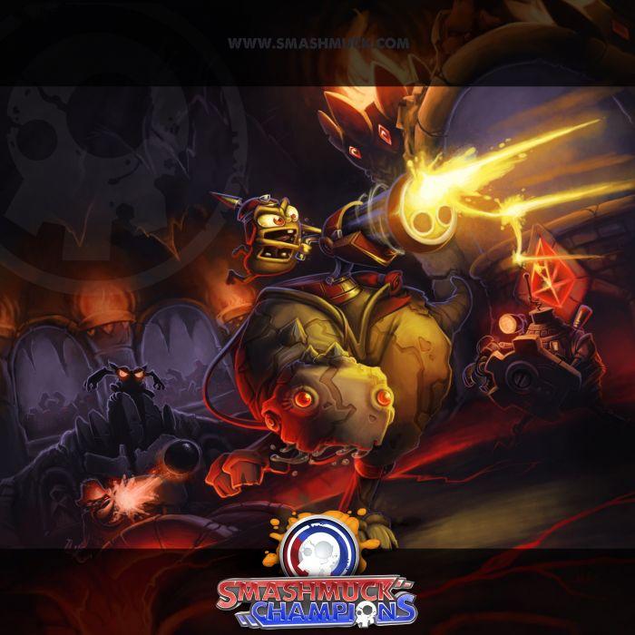 SMASHMUCK CHAMPIONS fantasy mmo rpg action fighting online arena strategy 1smash warrior poster wallpaper