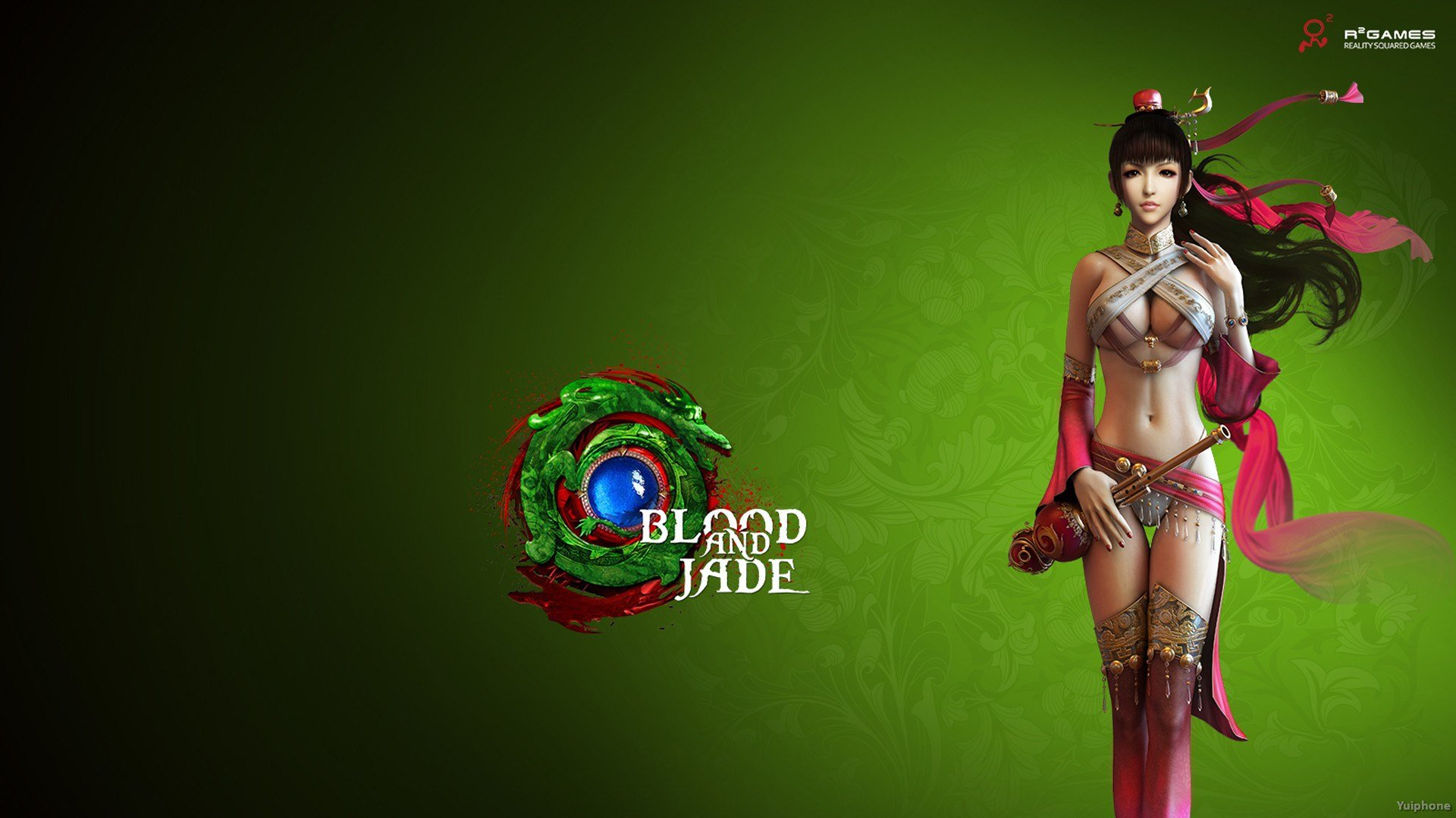 Blood and jade girl hot sexy wallpapers sex pic