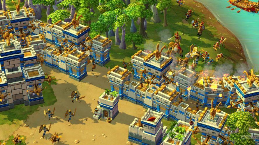 CIVILIZATION ONLINE empire building mmo rpg fantasy strategy adventure 1civilo history detail sci-fi artwork architecture wallpaper
