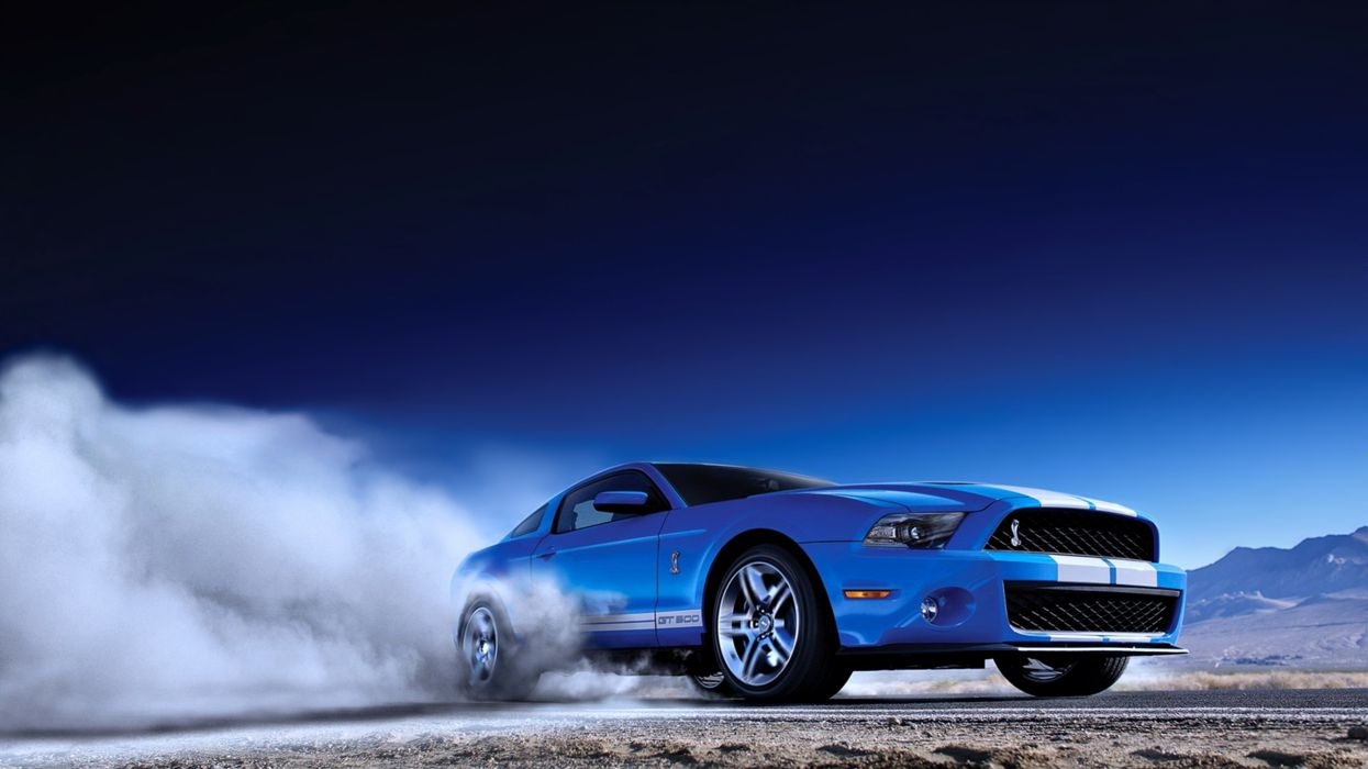 Cars eleanor ford gray gt500 motors mustang shelby speed blue sky landscapes drift wallpaper