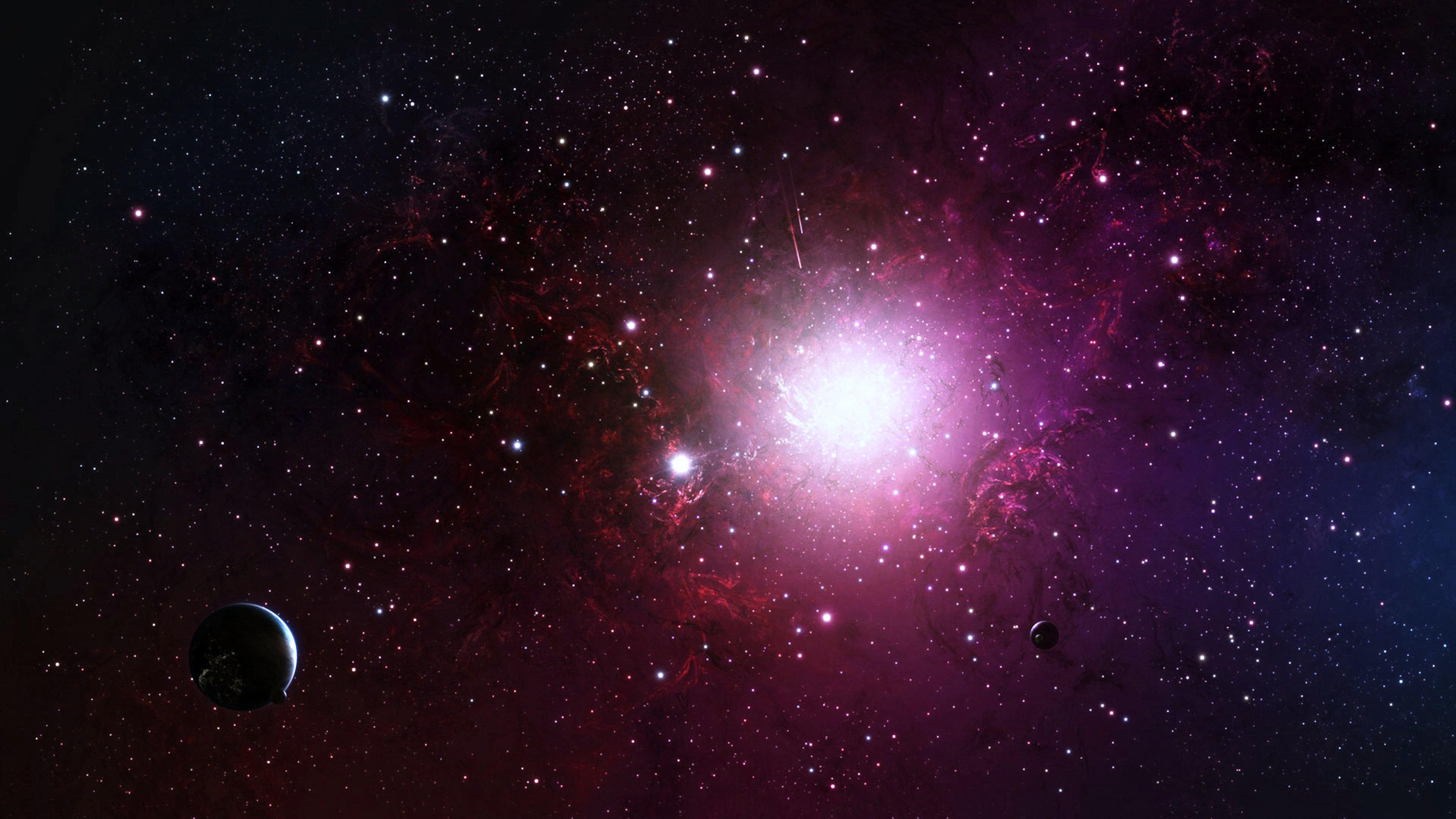 pink nebula galaxy space wallpaper - photo #17