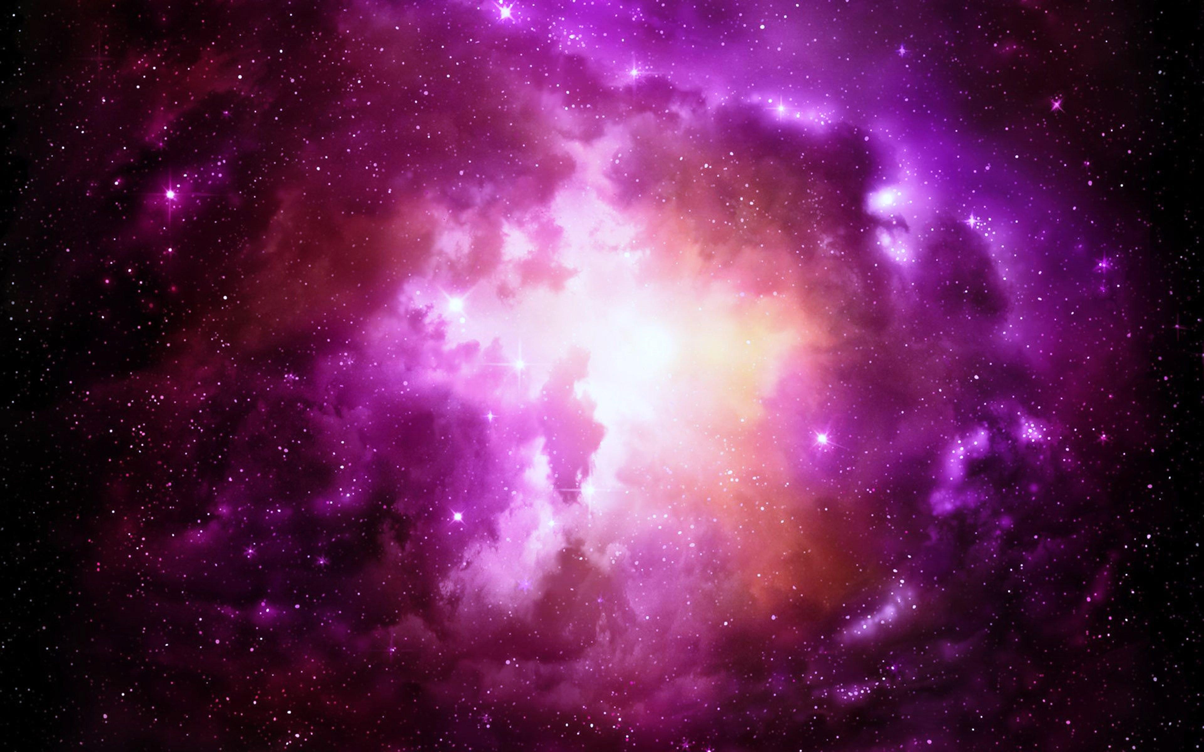 pink nebula galaxy space wallpaper - photo #4