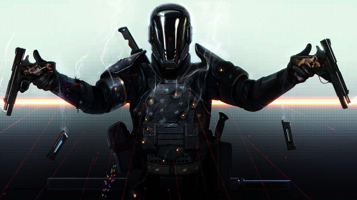 LAST MAN STANDING comics online killbook bounty hunter 1lmsk action fighting sci-fi superhero hero heroes warrior adventure wallpaper