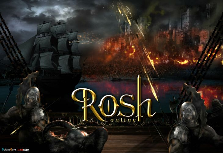 ROSH ONLINE fantasy mmo rpg action fighting 1rosho return karos hero heroes detail warrior artwork poster wallpaper