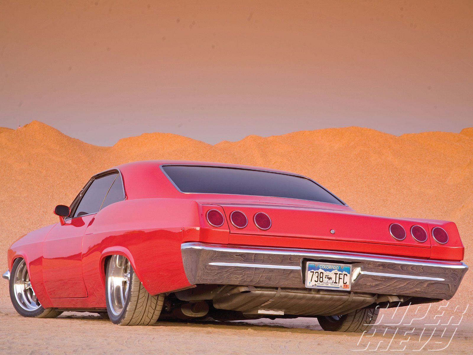 1965 Chevrolet Chevy Impala Ss Low Rider Street Machine Hi