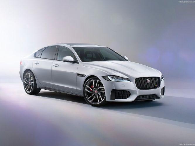cars jaguar X F 2015 sedan wallpaper