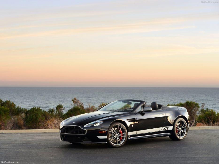 2014 Aston g t Martin roadster v 8 vantage wallpaper