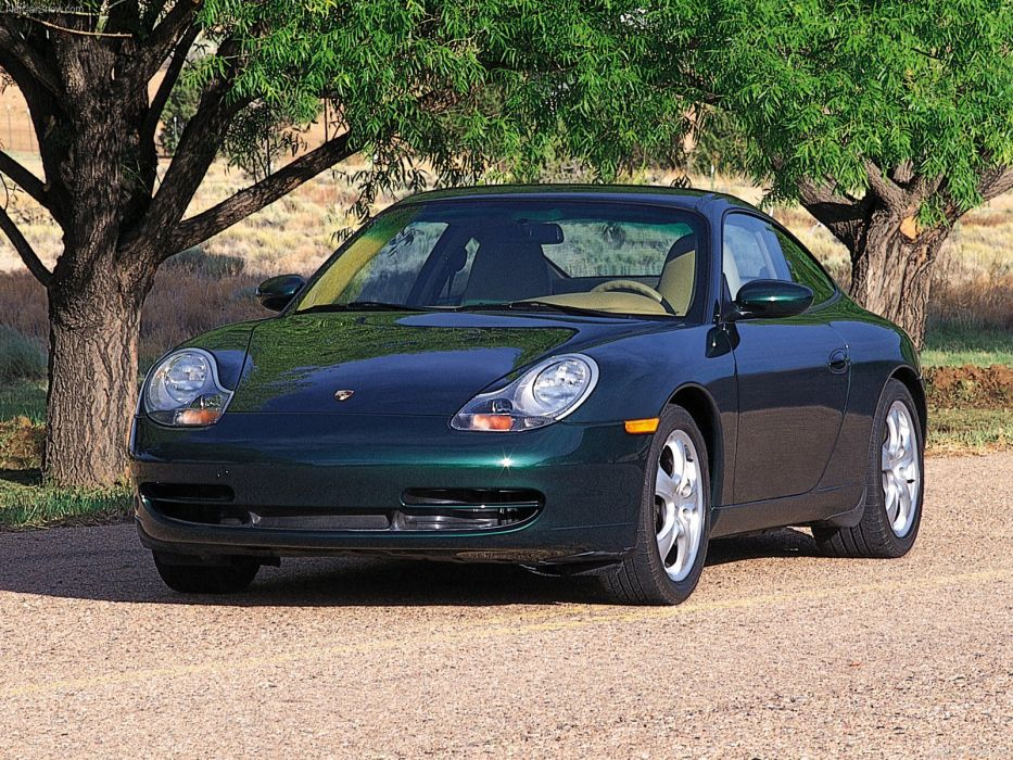 Porsche 911 Carrera 4 Coupe cars 2001 wallpaper