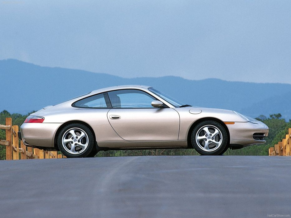 Porsche 911 Carrera coupe 2001 cars wallpaper