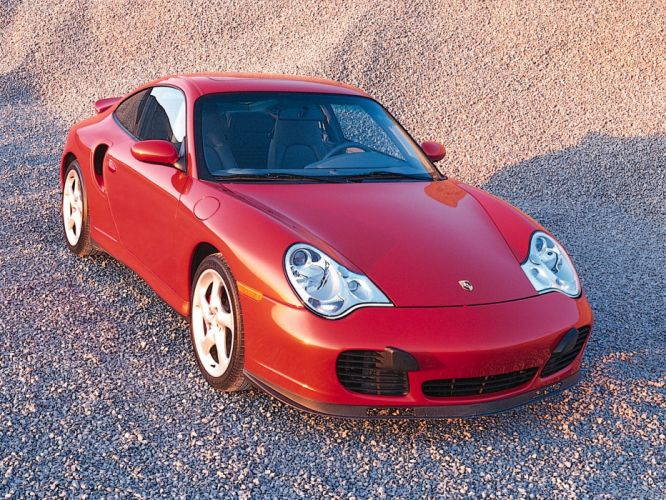Porsche 911 Turbo coupe cars 2001 wallpaper